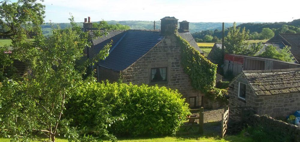 Woodside Farm. Near Matlock, Derbyshire.